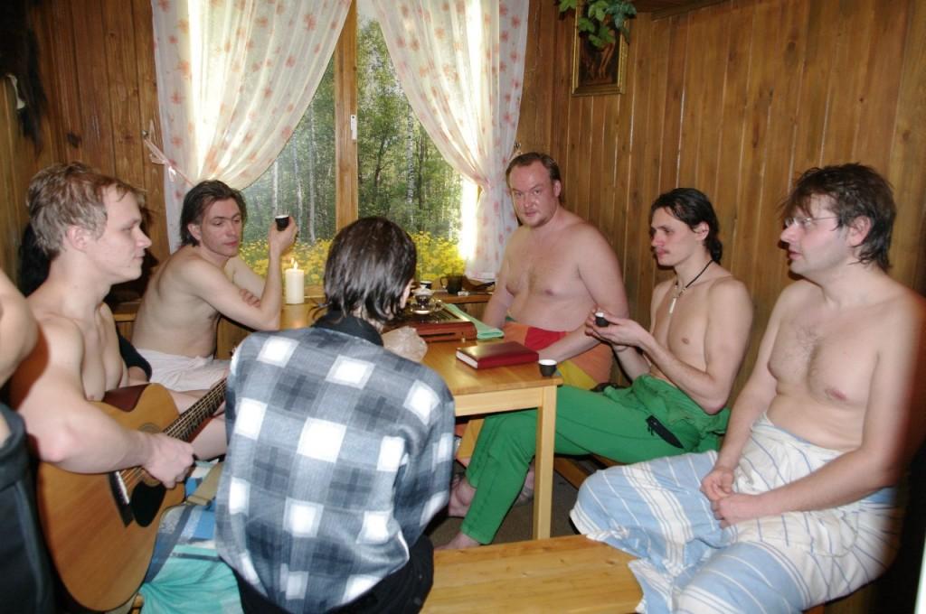 Чайная церемония (или уже после)